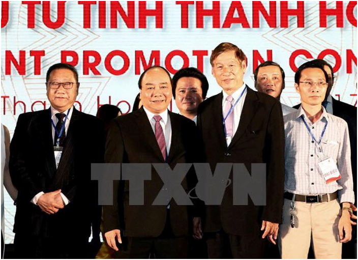 FDI Company attended the investment promotion conference in Thanh Hoa province
