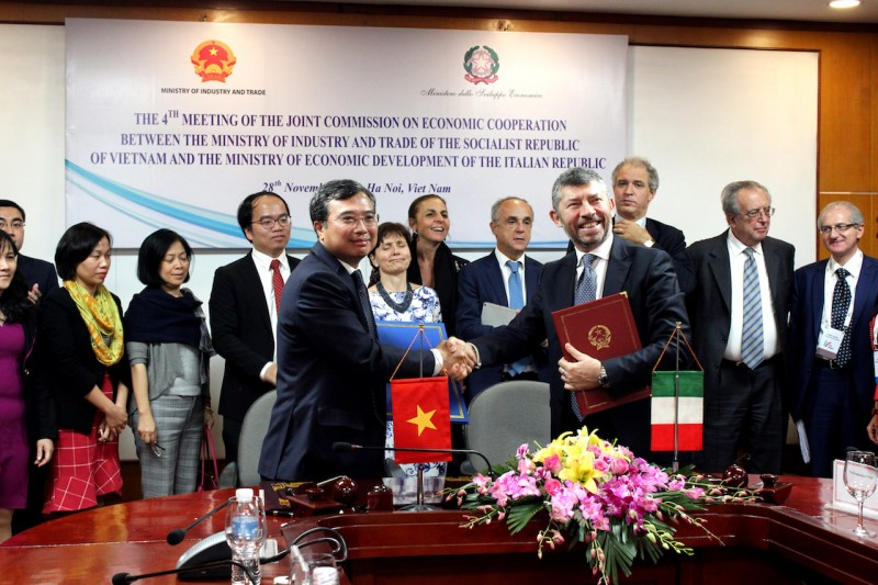 A Strong Investment Wave of Italian Business Will Enter in Vietnam Soon