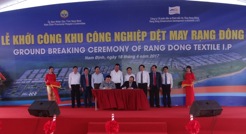 Nam Dinh: Attract Investment in Industrial Zones