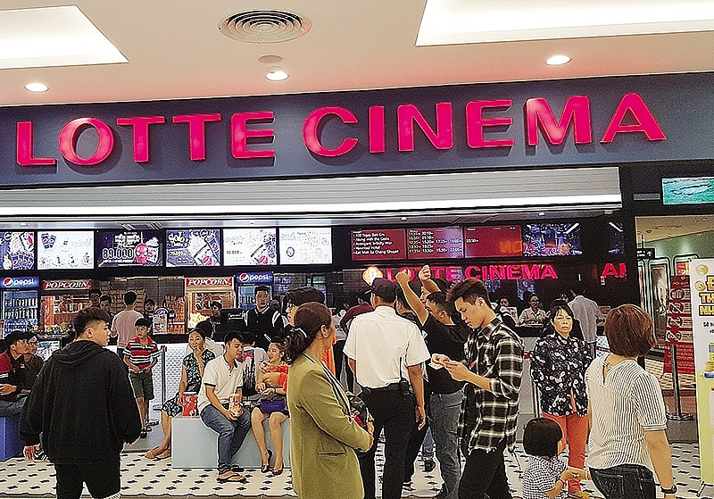 Foreign players dominate blossoming cinema scene