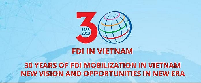 Conference on 30 years of FDI attraction to open new era and vision