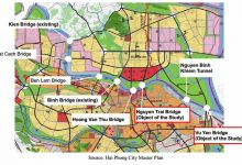 Hai Phong: Four key traffic projects call for nearly US$ 500 million capital.